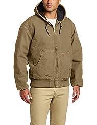 Carhartt Jacke Sandstone Active Quilt Flannel Lined, Farbe:cottonwood;Größe:L