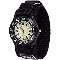 Wolfteeth Junge Kleine Kinder Jungen Kinder Tragbare Armee Militär Armbanduhr Zeit Lehrer, Nylon Armband 3042