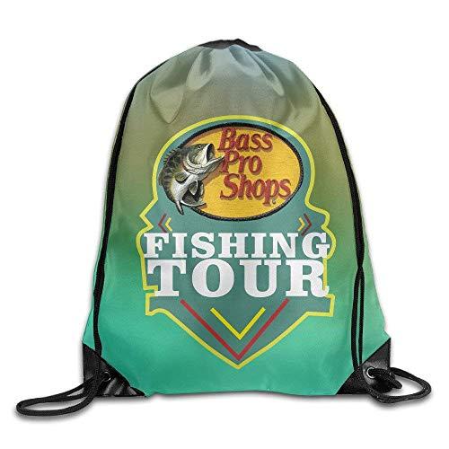 Liumiang Turnbeutel,Sporttaschen,Eco-Friendly Pirnt Exotic Drawstring Bag Bass Pro Shops Fishing