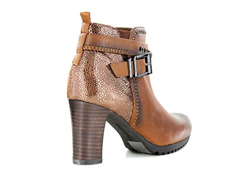 FUGITIVE NESTA - Bottines / Boots - Femme gold