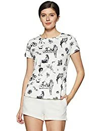 VERO MODA Women's Printed T-Shirt