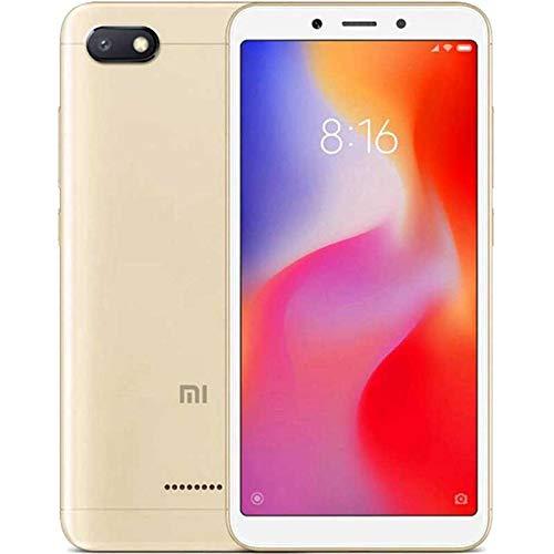 Xiaomi Redmi 6A - Smartphone de 5.45' (Helio A22, RAM de 2 GB, Memoria de 32 GB, cámara de 13 MP, Android 8.1) Color Dorado