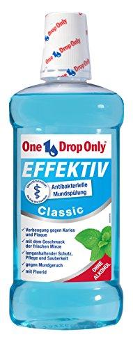 5 + 1 One Drop Only Mundspülung EFFEKTIV Classic 500 ml (1 Flasche gratis!)
