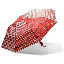 Desigual Micro Umbrella Carmin