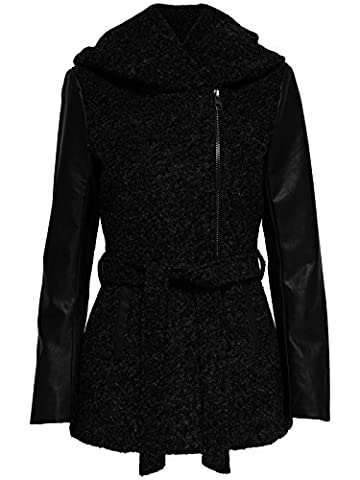 Only Damen Woll-Mantel onlNew Lisford Wool Coat 15136121 XS-XL, Größe:S,