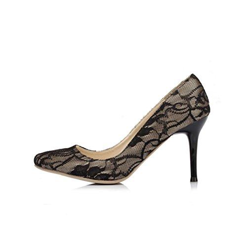 Kevin Fashion , Chaussures de mariage à la mode femme Noir