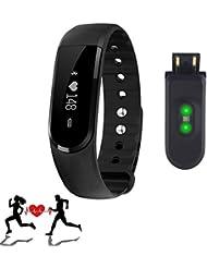 SURPHY Fitness Tracker, Sport Bracelet, Start Bracelet d'activité avec Bluetooth Écran Tactile 4.0Montre Bracelet podomètre, Fitness Tracker étape Compteur de Calories