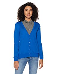 Forever 21 Womens Cotton Pullover (00137644612_0013764461_BLUE_2_)
