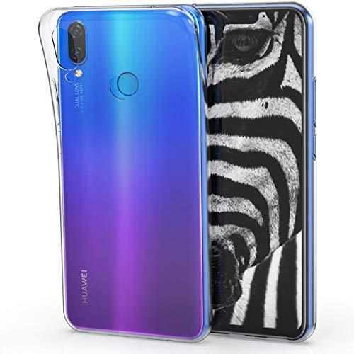 kwmobile Huawei P Smart+ Plus/Nova 3i Hülle - Handyhülle für Huawei P Smart+ Plus/Nova 3i - Handy Case in Transparent