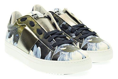 STOKTON donna sneakers basse 650-D Blu 39 Blu