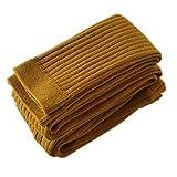Volon Kinder Strumpfhosen für Jungen und Mädchen Strickstrumpfhose mehrfarbig Strumpf Einfarbig,L(2-4 Jahre alt),Gelb