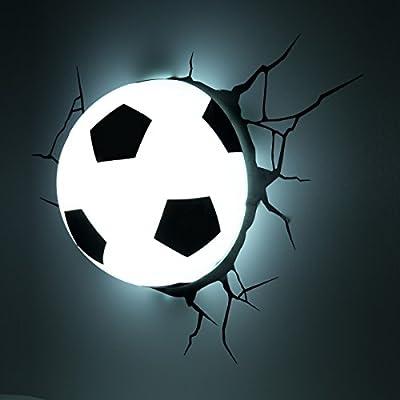Brilliant Soccer Led Spotrondell 3 Flg Deckenstrahler