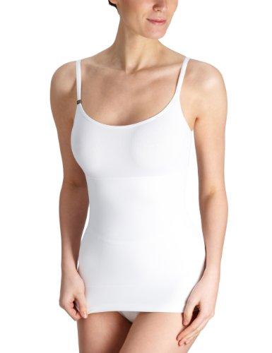 Triumph Damen Unterhemd Trendy Sensation Shirt 01, Weiß (WHITE), M