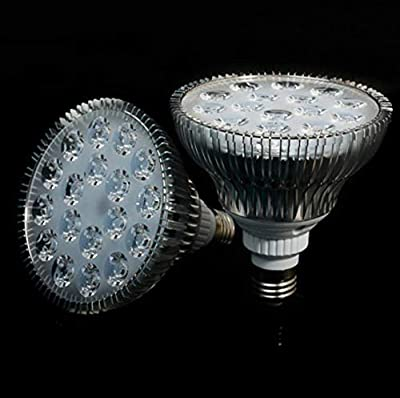 xiadsk Aquarium E27 allumant la lumière d'aquarium de LED, la Plante Aquatique et la Croissance d'éclairage de Corail Bleu Clair et Blanc