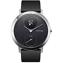 Withings / Nokia Steel HR Hybrid - Reloj, Unisex Adulto, Plateado (Silver)