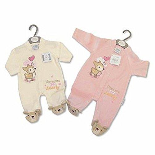 Nursery Time Baby Mädchen (0-24 Monate) Spieler rose 3-6 Monate