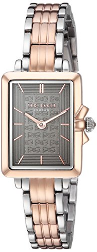 Ted Baker Women's 'TESS' Quartz Stainless Steel Casual Watch, Color:Rose Gold-Toned (Model: TE50271006)