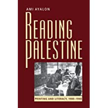 Reading Palestine: Printing and Literacy, 1900-1948