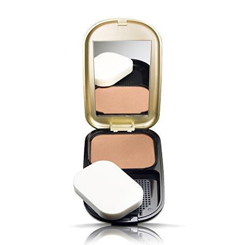 Max Factor Facefinity Compact Make-up 008 Toffee Puder Foundation, für ein mattes Finish (1 x 10 g) -