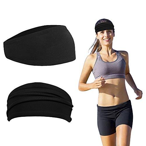 Leeko Deportes Diadema Unisex de Algodón para Yoga, Correr, Viajar y Baloncesto Deportes