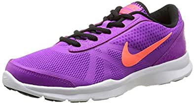 Nike Women's W Core Motion Tr 2 Vivid Purple, Hyper Orange, Black and White Running Shoes - 4 UK/India (36.5 EU)(4.5 US)