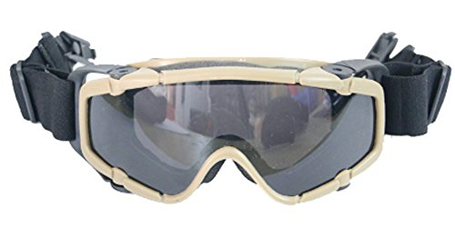 SaySure - Outdoor Airsoft Ballistic tactical Goggle for Tactical Helmet