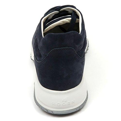 C7522 Baskets Donna Hogan Interactive Scarpa H Bucata Blu Chaussure Femme Blu