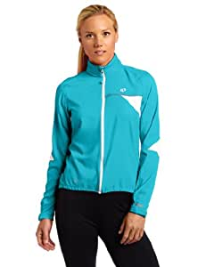 Pearl Izumi Women's Elite Barrier Jkt, Peacock, Size XS X-small Peacock
