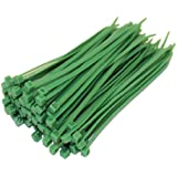 100 x Green Cable Ties 100Mm X 2.5Mm Zip Tie Bases All Sizes
