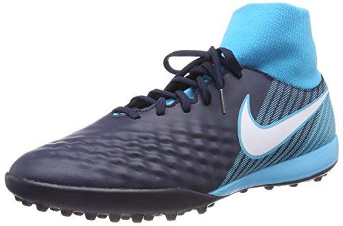 Nike Magistax Onda II DF TF, Botas de Fútbol para Hombre, Azul (Obsidian/Azul Gamma/Azul Glacial/Blanco 414), 47 EU