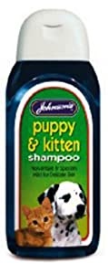 Johnsons Puppy & Kitten Sensitive Dog Shampoo 125ml from Johnsons