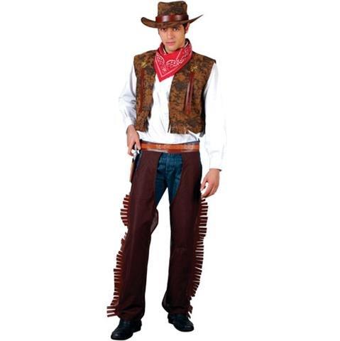 Costume Cowboy per gli uomini, taglia M [giocattoli]