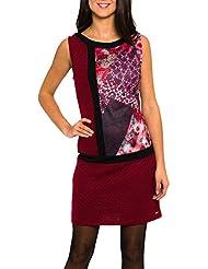 SMASH Biana Vestido Pichi Estampado-A1661310, Robe de Chambre Femme