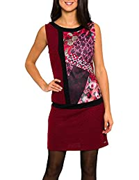 SMASH Biana Vestido Pichi Estampado-A1661310, Robe Femme