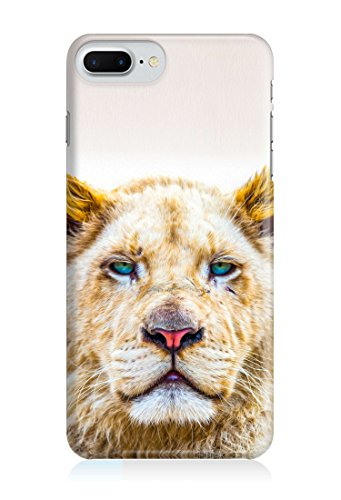 COVER Löwin Löwe Handy Hülle Case 3D-Druck Top-Qualität kratzfest Apple iPhone 7
