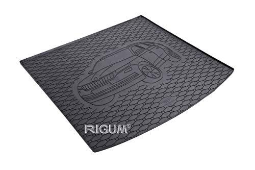 RIGUM Passgenaue Kofferraumwanne geeignet für Skoda Kodiaq 5-Sitzer ab 2017 passen ideal