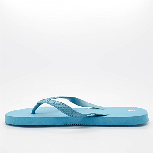 London Footwear - Retro aperto donna Blu (blu)