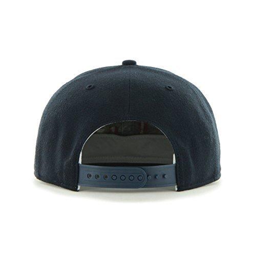 47 Brand Captain Sureshot Tigers Cap Flat Brim Snapback Basecap Baseballcap Kappe Basecap Cap Snapback Cap Snapback Navy