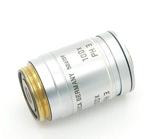 Lente microscopio LEICA GERMANY ∞/-/ D N PLAN 100x