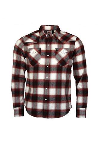 Levi's - Maglietta sportiva - Classico  - Maniche lunghe  -  uomo Red XX-Large