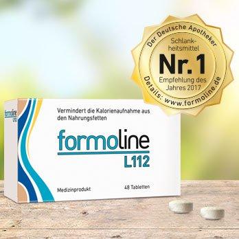 Formoline L112 Spar-Set 2x48 Tabletten.Leichter Abnehmen und Gewicht halten. Bis zu 3 Kleidergrößen schlanker! -