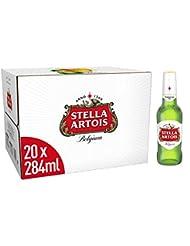 Stella Artois Premium Lager Beer Bottles 20 x 284ml