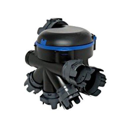 Groupe VMC simple flux BAHIA OPTIMA Aldes HygroB 2 à 5 sanitaires 11033218 6 piquagess