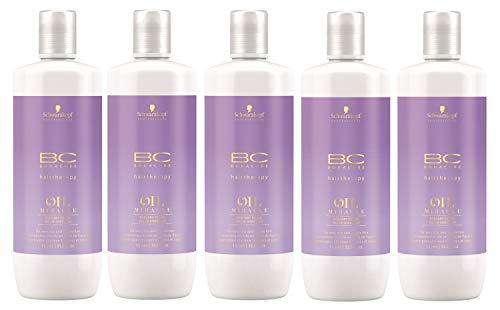 Leistungsstarke Antioxidantien-formel (5er Schwarzkopf Professional Bonacure Oil Miracle Barbary Fig Oil Shampoo 1000 ml)