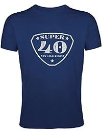 Tee shirt Super 40 Vintage Homme