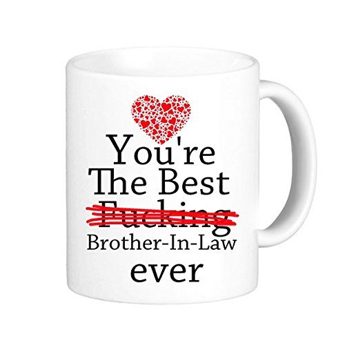 Yoshop Novelty Gifts For Brother In Law Funny Quotes Youre The Best