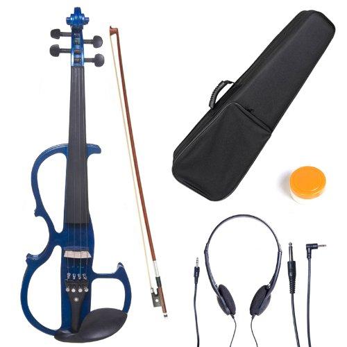 cecilio-l3-4cevn-l2bl-size-3-4-electric-violin-blue