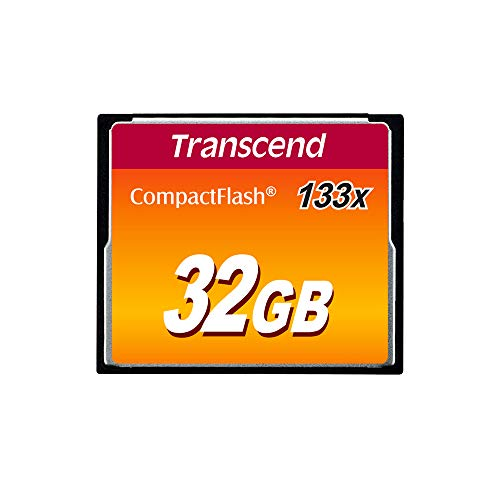 Transcend 32GB CompactFlash 133 Speicherkarte TS32GCF133