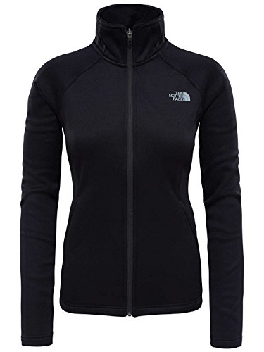 THE NORTH FACE W Agave Full Zip Jacke mit Fleecejacke, Damen XS Schwarz (TNF schwarz) Preisvergleich
