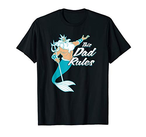 Triton Shell (Disney The Little Mermaid King Triton Father's Day  T-Shirt)